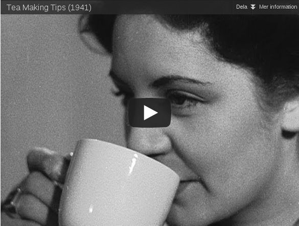 Tea Making Tips 1941